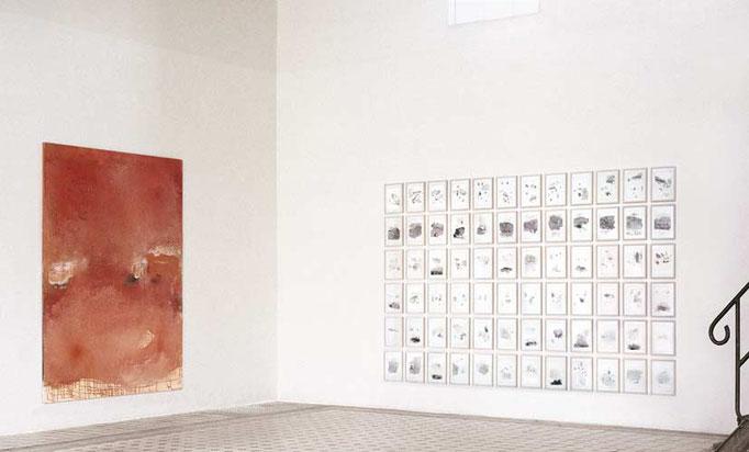 ...besuche mich Zeit..., Kunsthalle Vierseithof, Potsdam, 2002