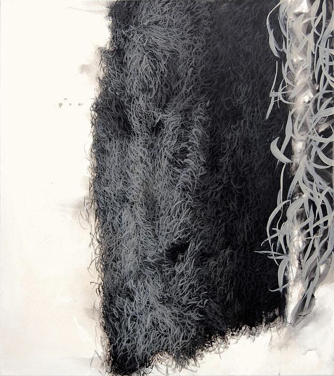 Microflower, 2011, Acryl auf Leinwand, 90x70cm