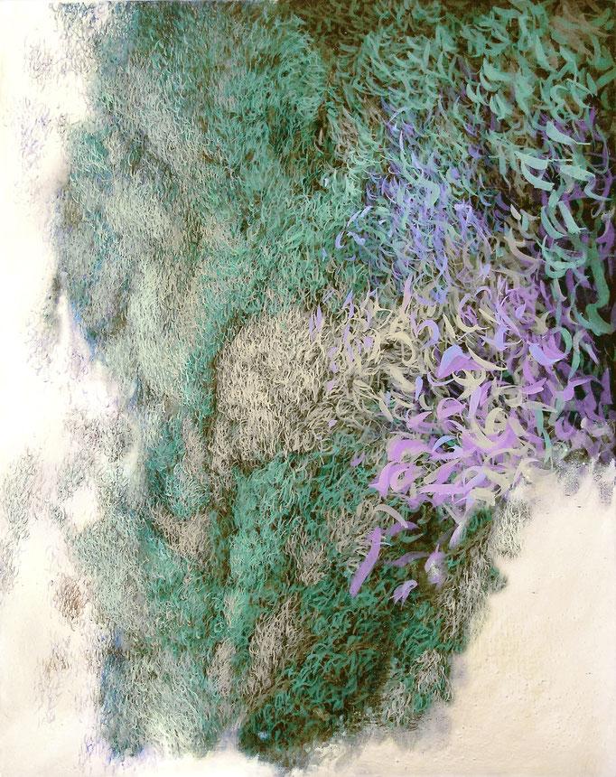 Meere, 2010, Acryl auf Leinwand  200x160cm