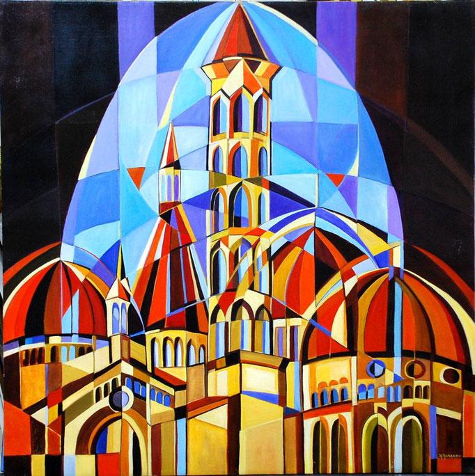 Basilica Sant Antonio t.m. 90x90