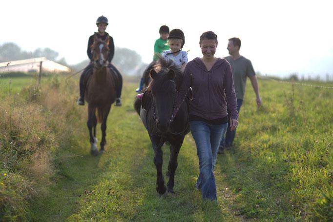 Reiten im Urlaub auf dem Bauernhof