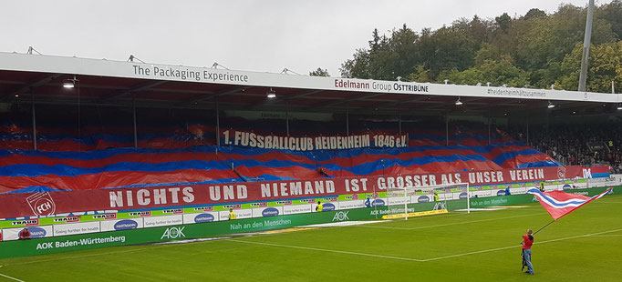 Osttribüne 1. FC Heidenheim