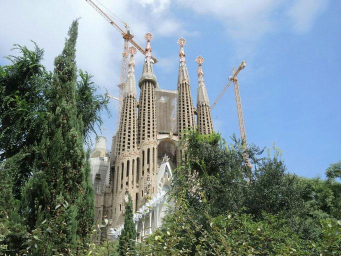 Barcelona - Kathedrale Sagrada Familia von Gaudi