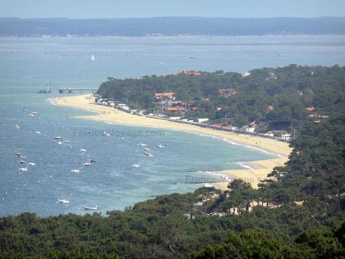 Pyla plage et Bassin d'Arcachon