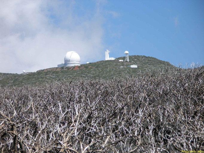 Observatorium auf dem Pico de la Cruz 2351m