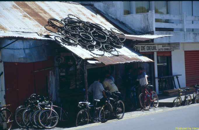 Fahrradladen in Maheboug