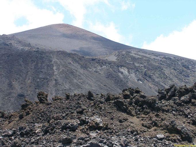 Vulkanlandschaft ganz im Süden