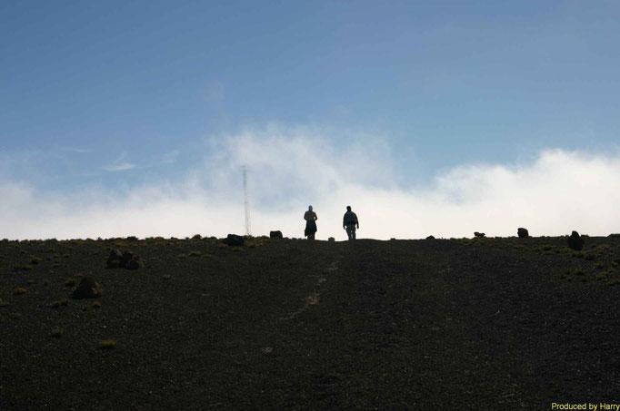 auf dem 1500m hohen Gipfel des Malpaso