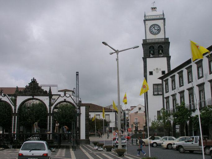 in Ponta del Gada, der Hauptstadt
