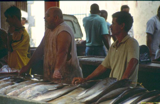 Die Hauptstadt Victoria   Fischmarkt