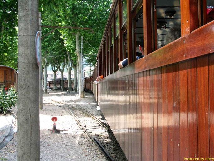 die Bahn von Palma nach Soller