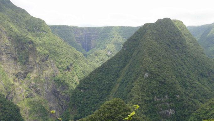 erste Tour in die Takamaka Schlucht mit vielen Wasserfällen (Tour 16 / Rother)
