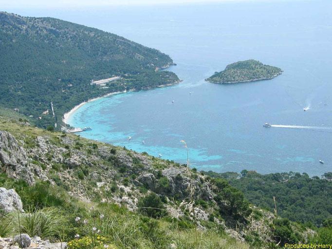 an der Halbinsel Formentor