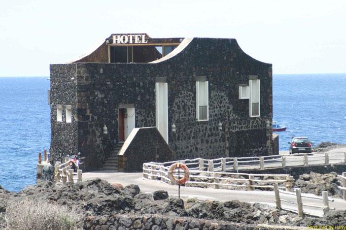 das angeblich kleinste Hotel der Welt