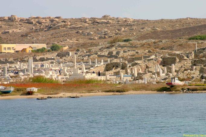 die Insel Delos