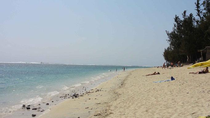 der Strand bei St Leu
