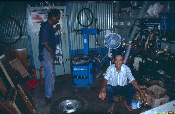 Reifenwechsel in  Maheboug
