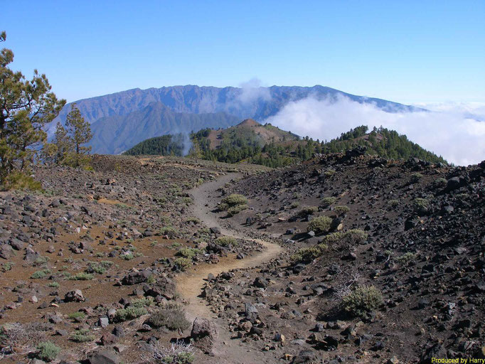 Bilder von der Tour über die Vulkane