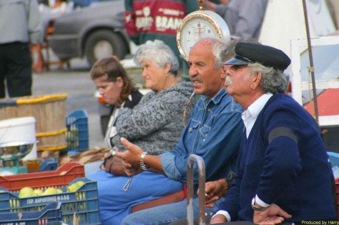 ... warten auf kundschaft Mykonos Stadt - Hafen