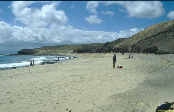 Playas de Papagayo  im Süden der Insel