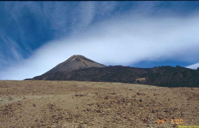 Abstieg vom Teide