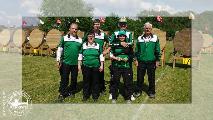 Gruppenfoto BSV Merkwitz 1997 e.V. / 12. Hobuschpokal am 20.05.2017 in Dessau-Roßlau