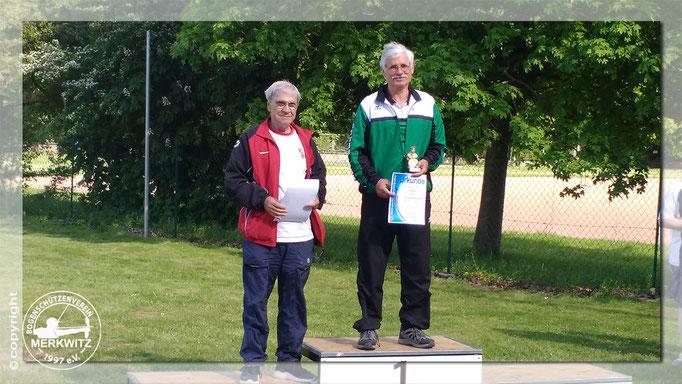 1. Platz & neuer Landesrekord Roland Krosch/ 12. Hobuschpokal am 20.05.2017 in Dessau-Roßlau