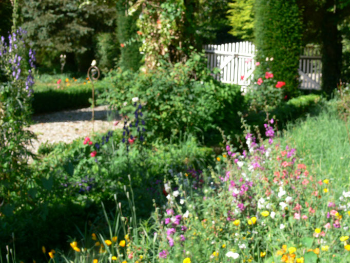 Garten Ferienwohnungen Altes Forstamt im Teutoburger Wald