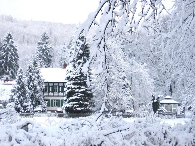 Winter Ferienwohnungen Altes Forstamt im Teutoburger Wald