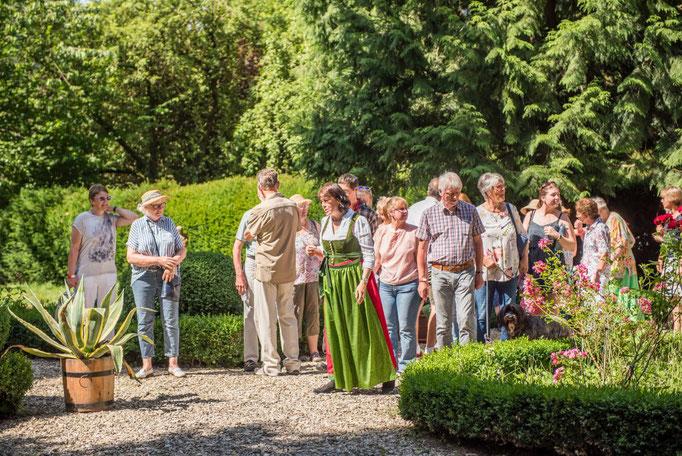 Tag des offenen Gartens 2019 Ferienwohnungen Altes Forstamt im Teutoburger Wald