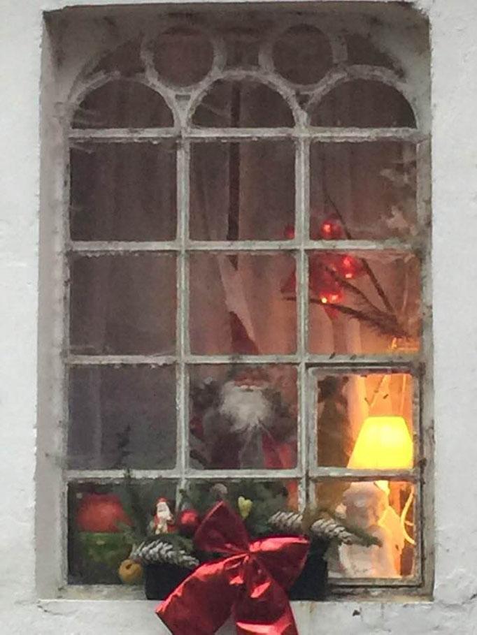 Weihnachtsfenster Altes Forstamt