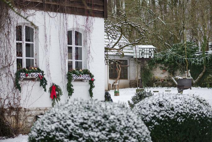 Winteridyll Ferienwohnungen Altes Forstamt im Teutoburger Wald