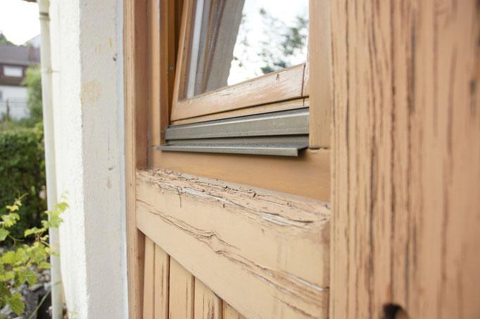 Sanierung Holzbauteile Malerarbeiten