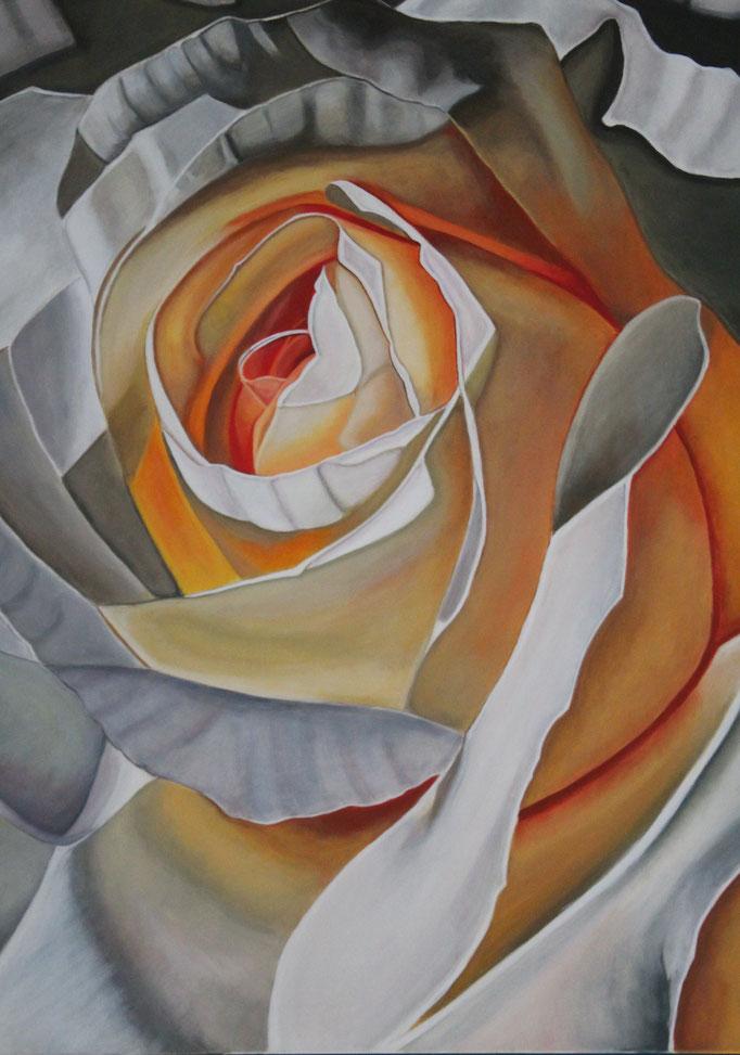 Rose d'après Marie Hélène Yernaux