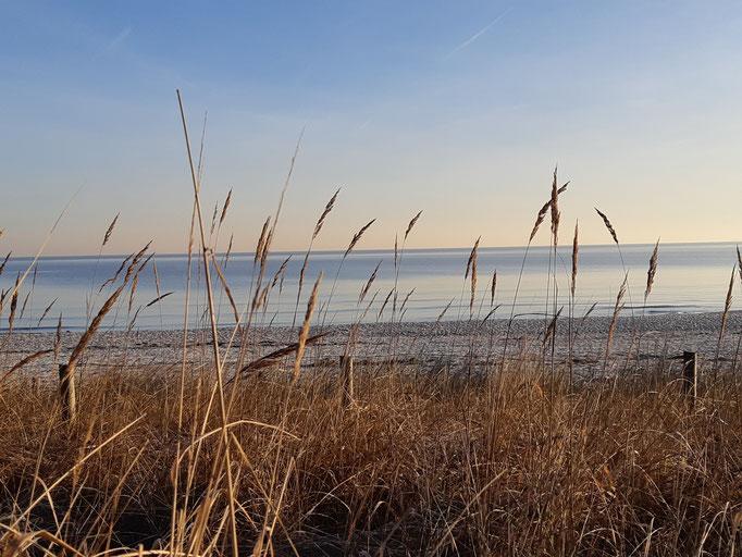 Herbststimmung am Strand Niendorf