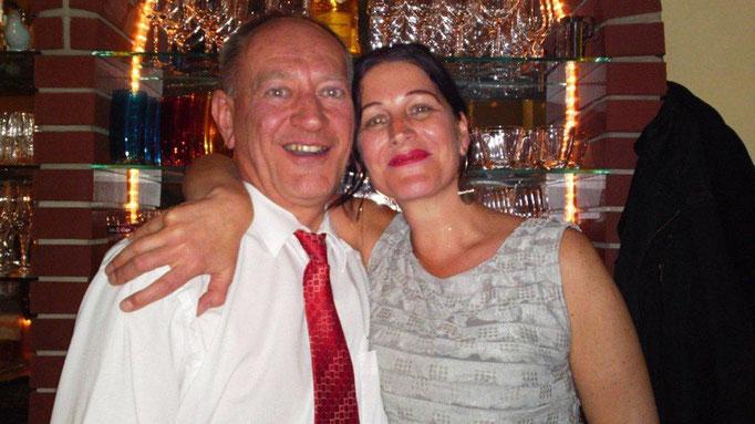 Los dueños Helga und Gerhard