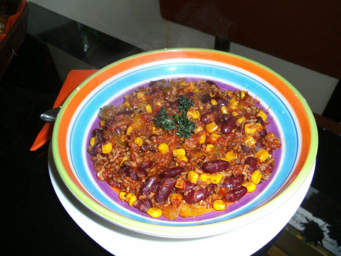 g´schmackiges Chili con carne