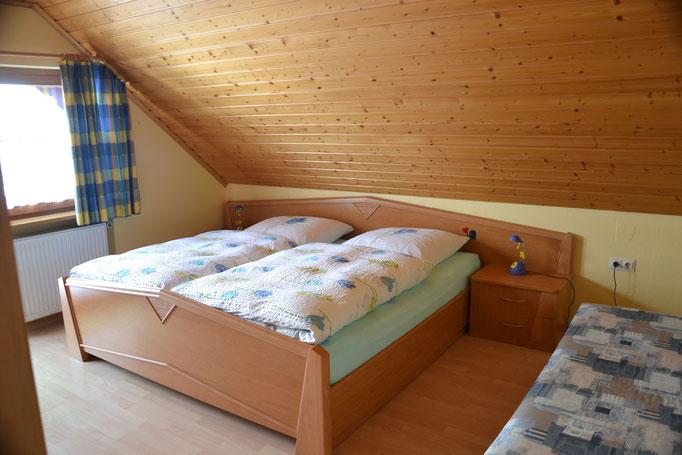 Schlafzimmer mit Liegecouch