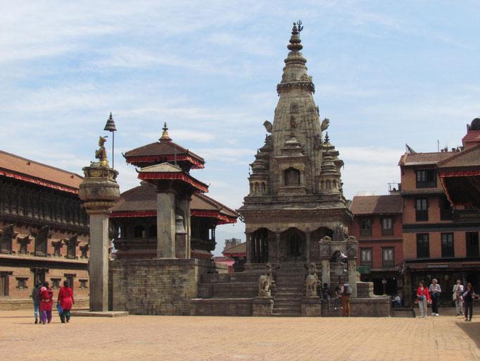 Durbar Square von Bhaktapur