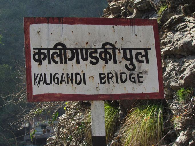 Kaligandi Brücke