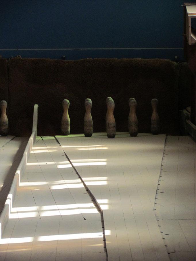 Kegelbahn in Kolmanskop