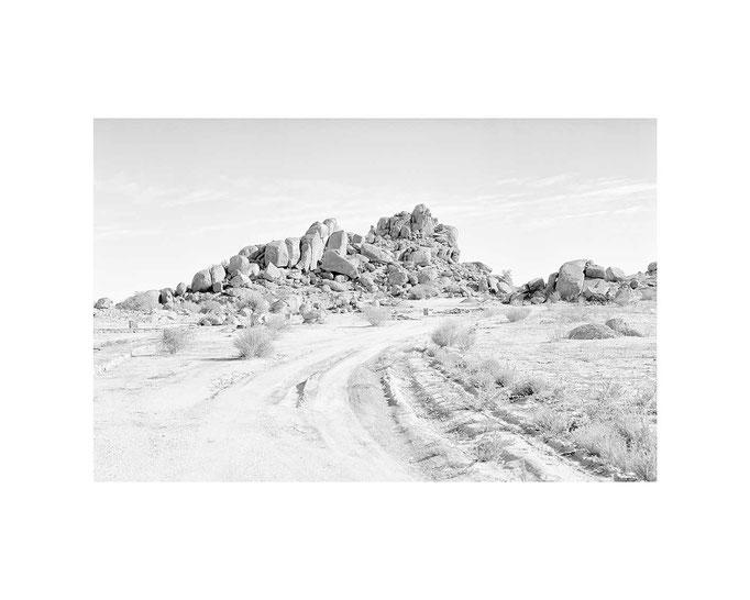 Landstrasse Twyfelfontein, Namibia, Editions-Blatt 33x49cm / 50x70, Auflage 10