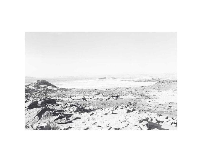 Das Meer Namibia, Editions-Blatt 33x49cm / 50x70, Auflage 10
