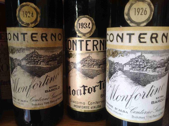 Vin Vino, Grands Vins Italiens de Barolo, Grands Crus Français, Wine Box, Conterno Monfortino, Patrick Moulene
