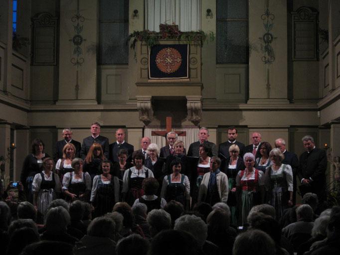 Unser Konzert in der Kirche in Gehren