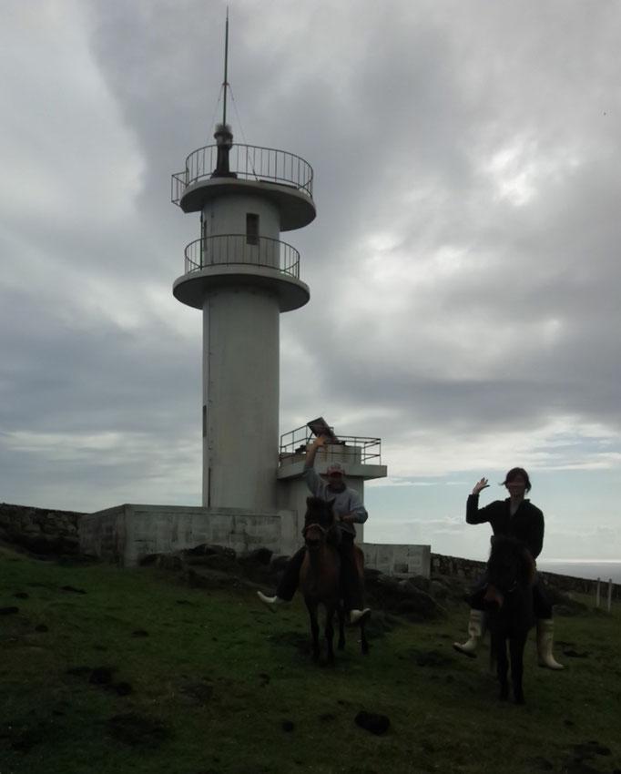 東崎灯台とヨッシー・オードリー!