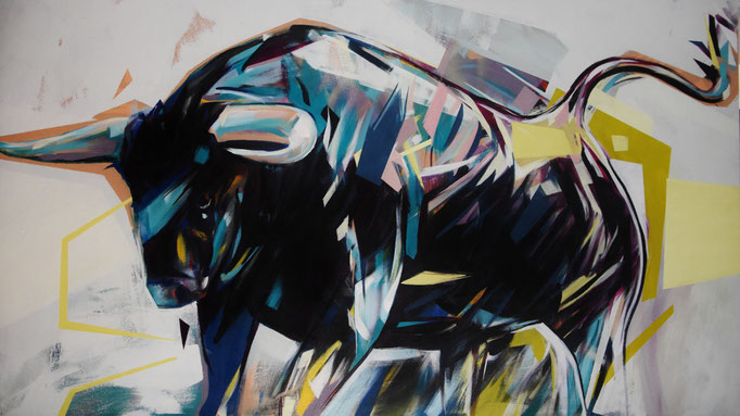 still life II, Feb 2018, Acrylic on canvas, 140cm x 80cm