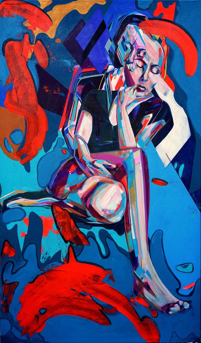 Natalie 81 x 138 cm Acrylic on canvas 2018 / 2020