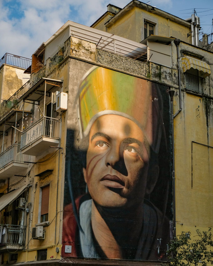 Street Art in Naples Italy