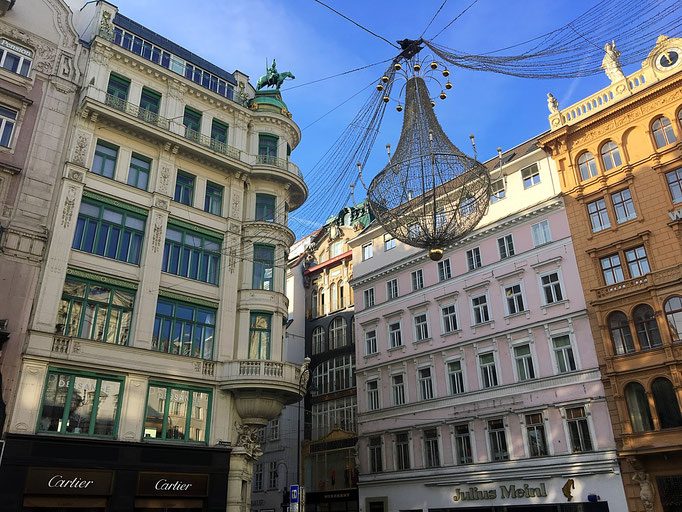 Christams Decorations on Graben